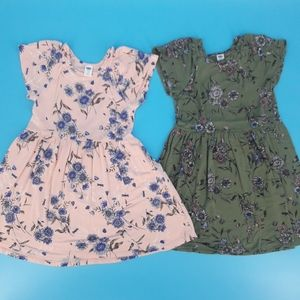 Pair of Girl's 5T Old Navy Dresses